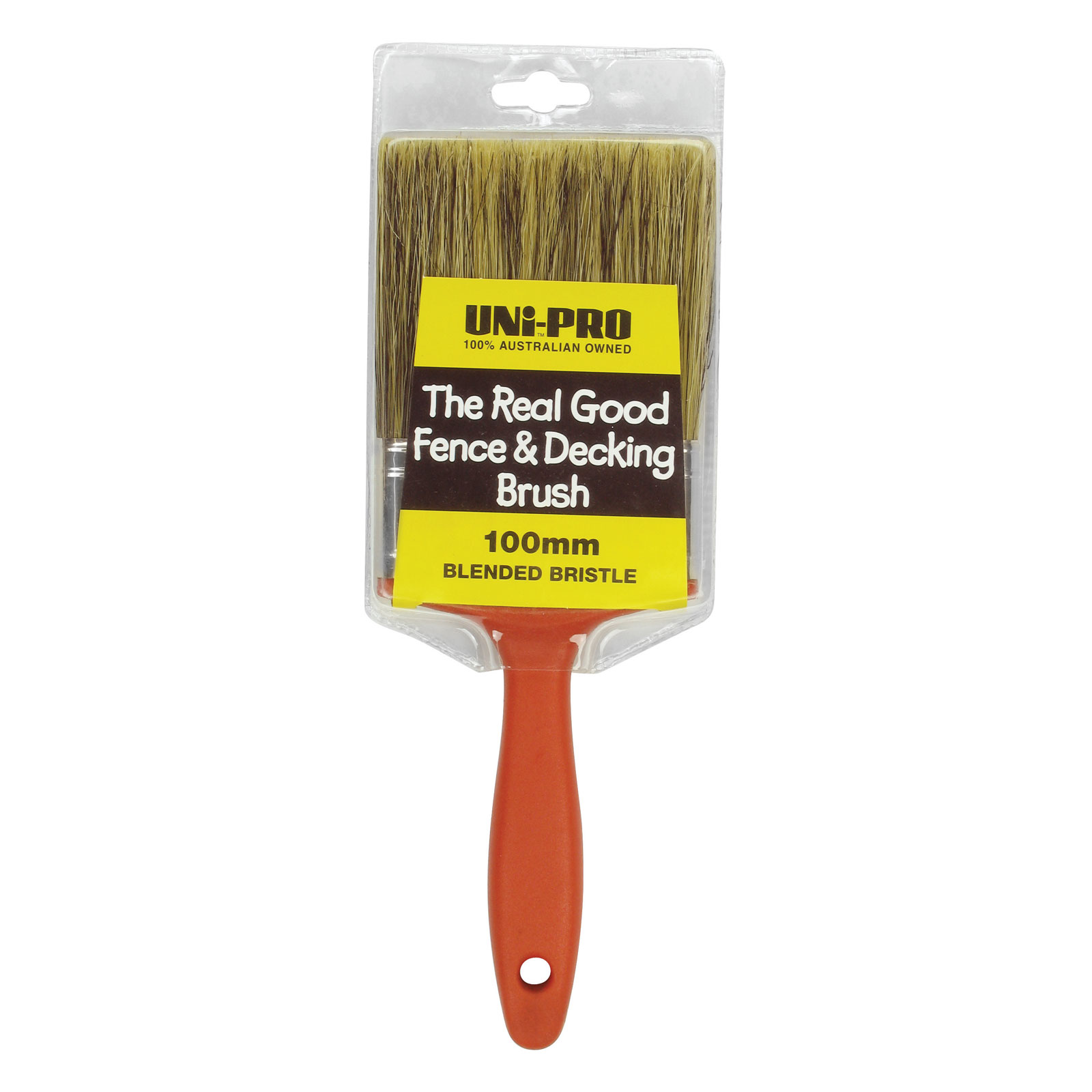 "UNi-PRO ""Real Good"" Fence & Deck Brush"