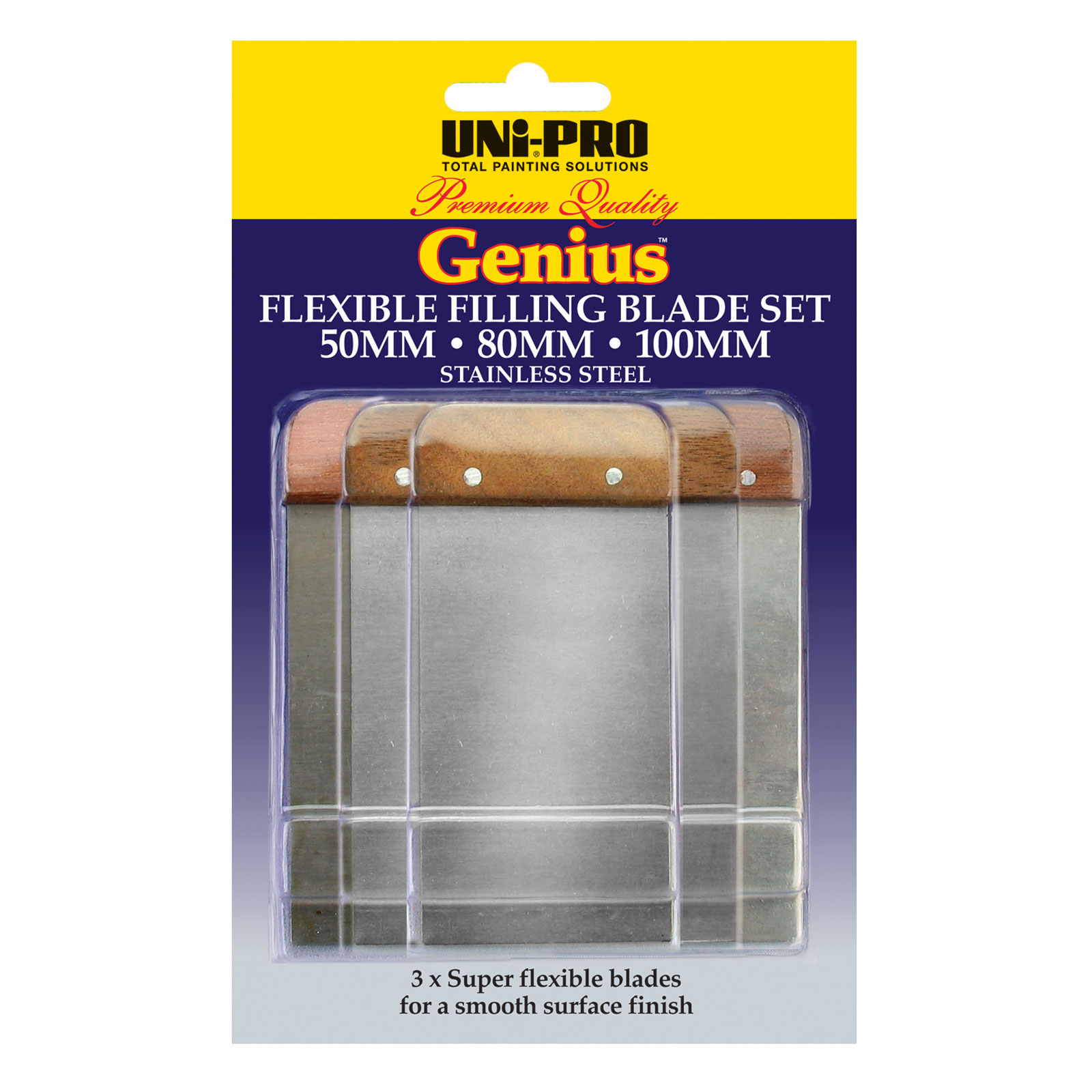 Genius Flexible Filling Blades Set - 3 Pcs