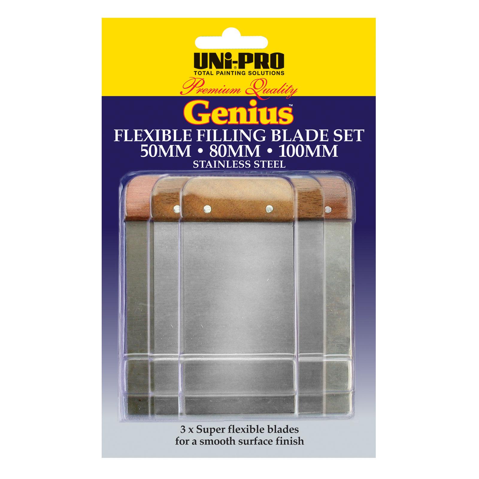 Genius Flexible Filling Blades Set - 3 Pcs