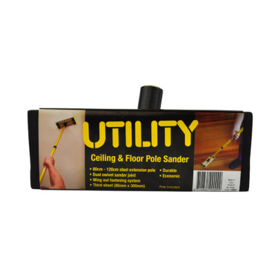 Utility Ceiling & Floor Pole Sander - HEAD ONLY no pole included