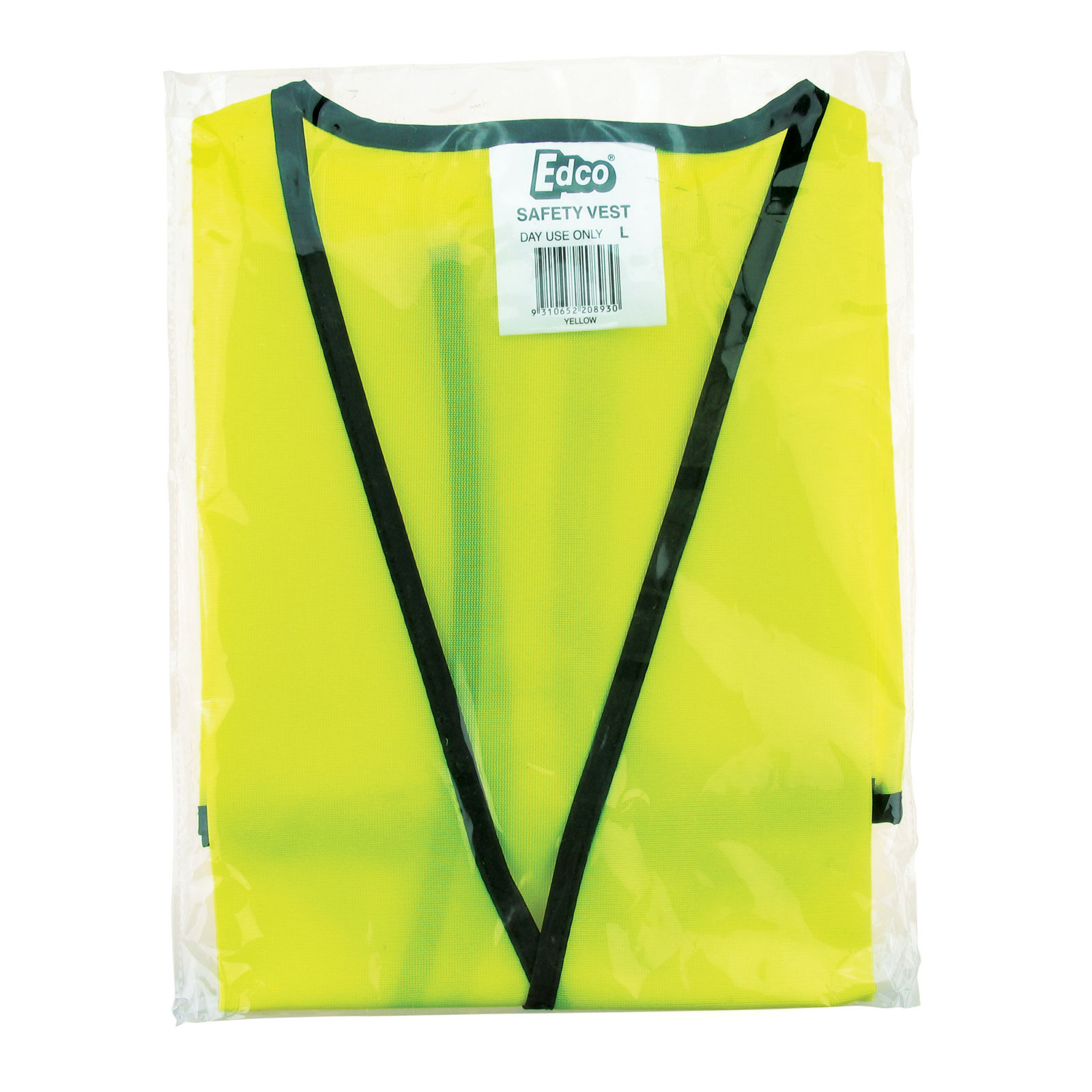 Safety Vest - Day Use - Yellow