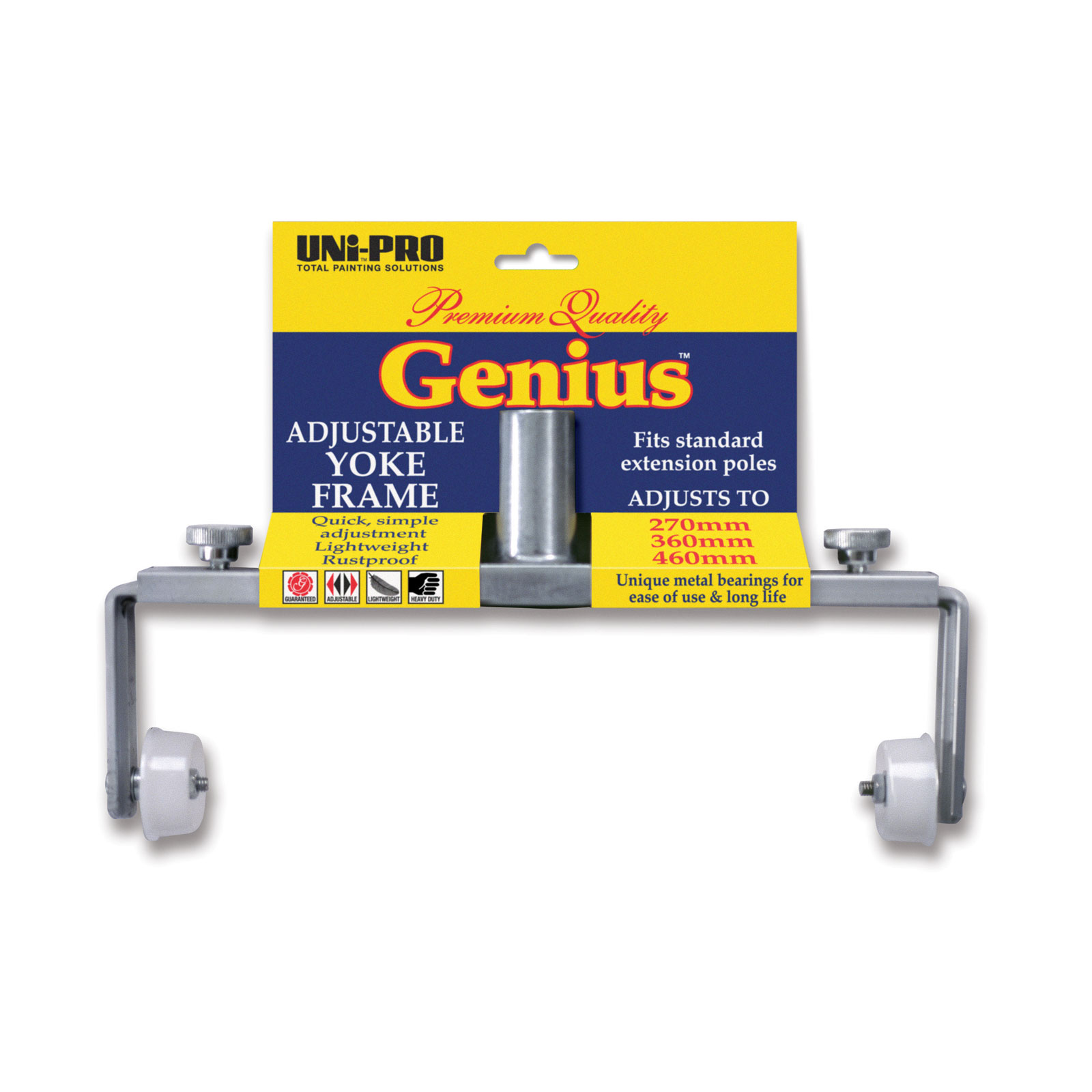 Genius Adjustable Aluminium Yoke Frame