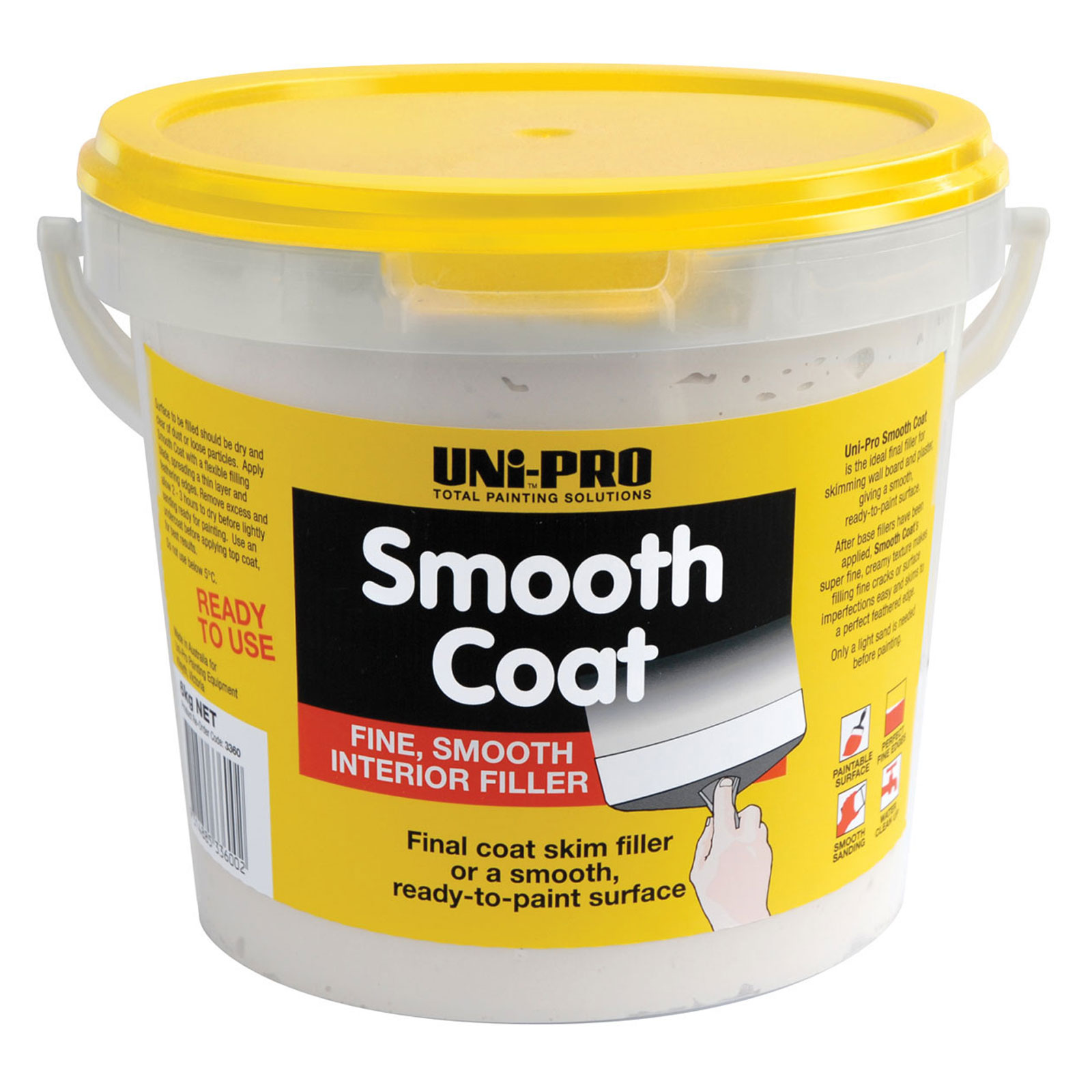 UNi-PRO Smooth Coat Filler (Skim Coat)