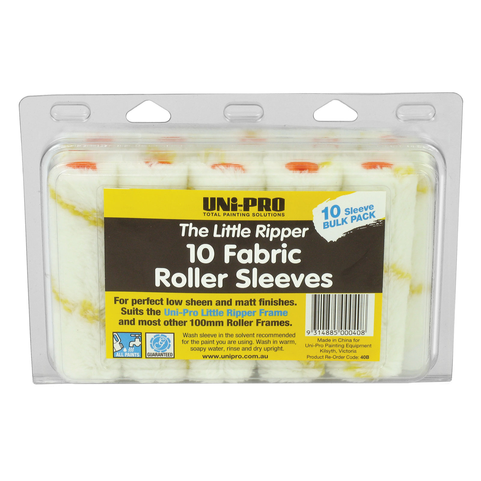 """UNi-PRO """"Little Ripper"""" Fabric Covers - 10 Pack"""