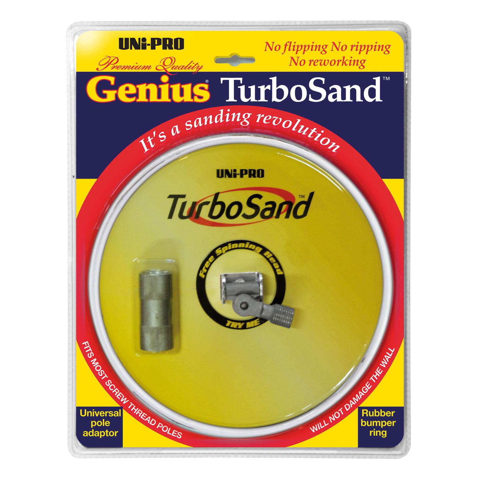 Genius TurboSand Circular Pole Sander