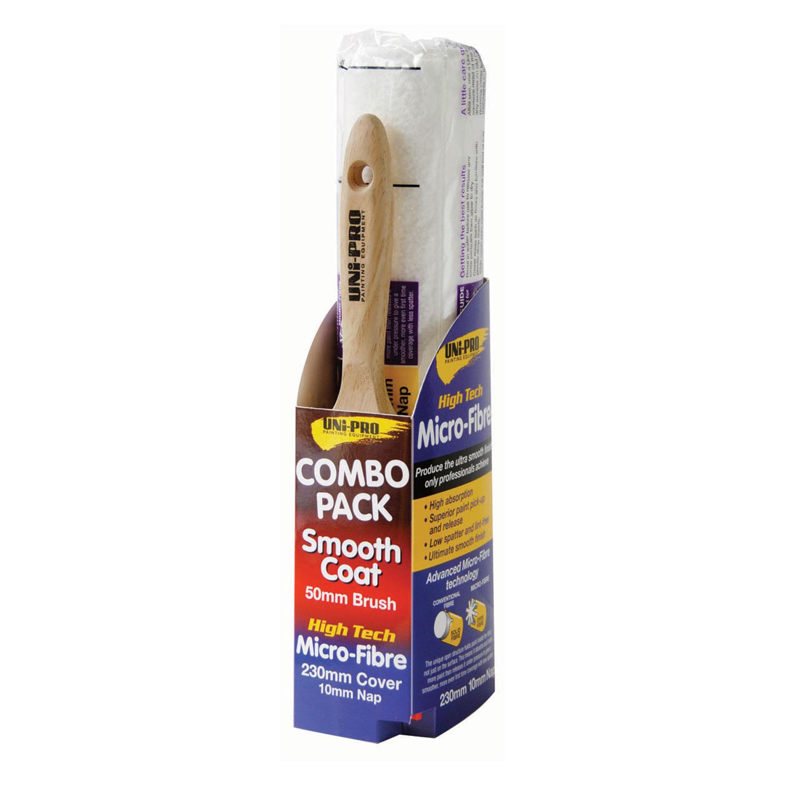 UNi-PRO Brush & Roller Combo Pack