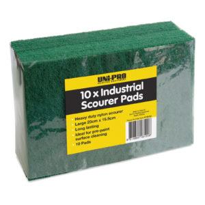 UNi-PRO Industrial Scourer Pads 23 x 15.5cm 10 Pack