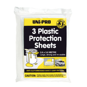 UNi-PRO Embossed Light Protection Sheet - 3 Pack