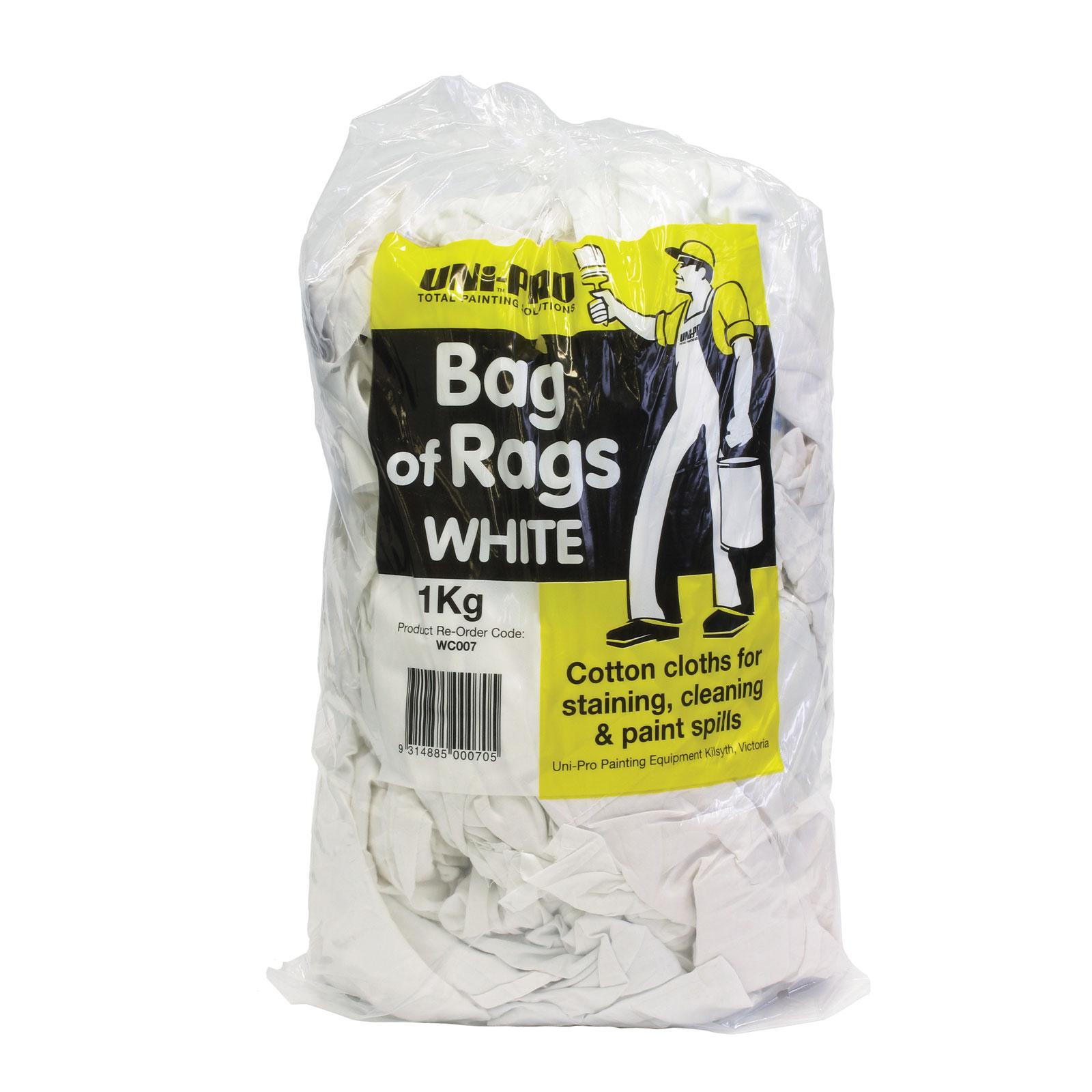 UNi-PRO White Rags