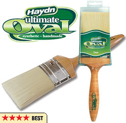 Haydn Ultimate Oval Synthetic Brush