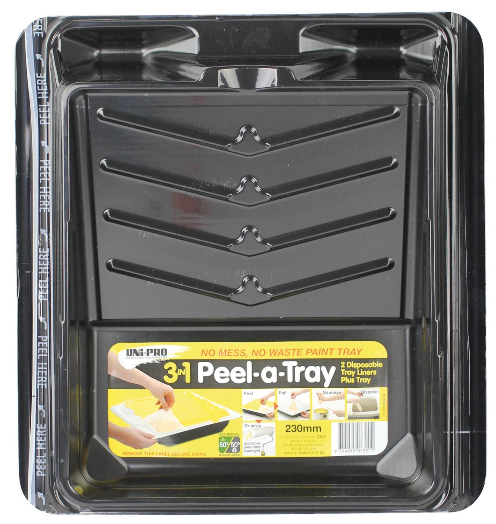 UNi-PRO 3 in 1 Peel A Tray