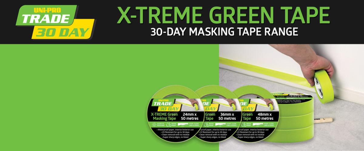 Extreme Green Masking Tape