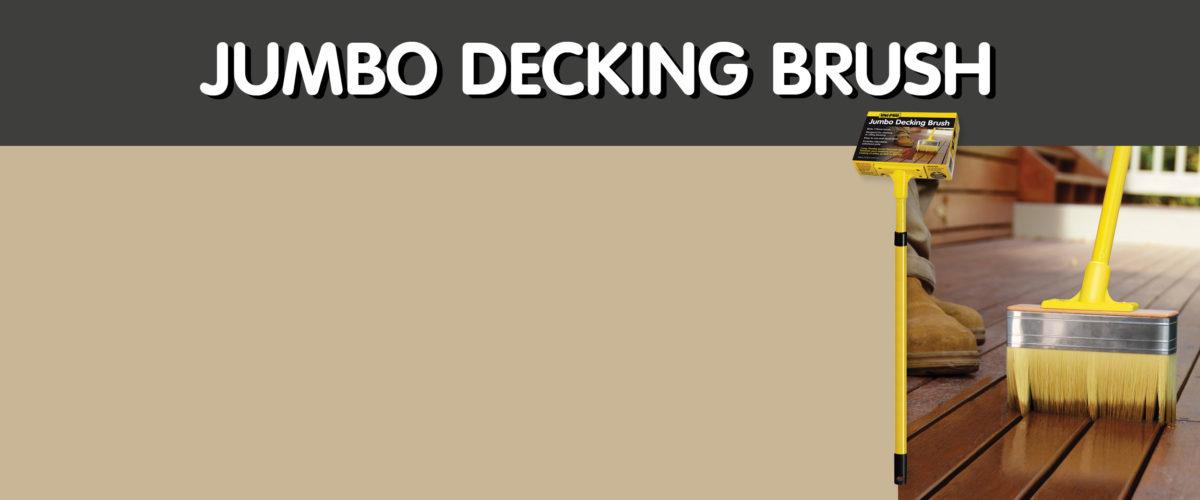 Jumbo Decking Brush