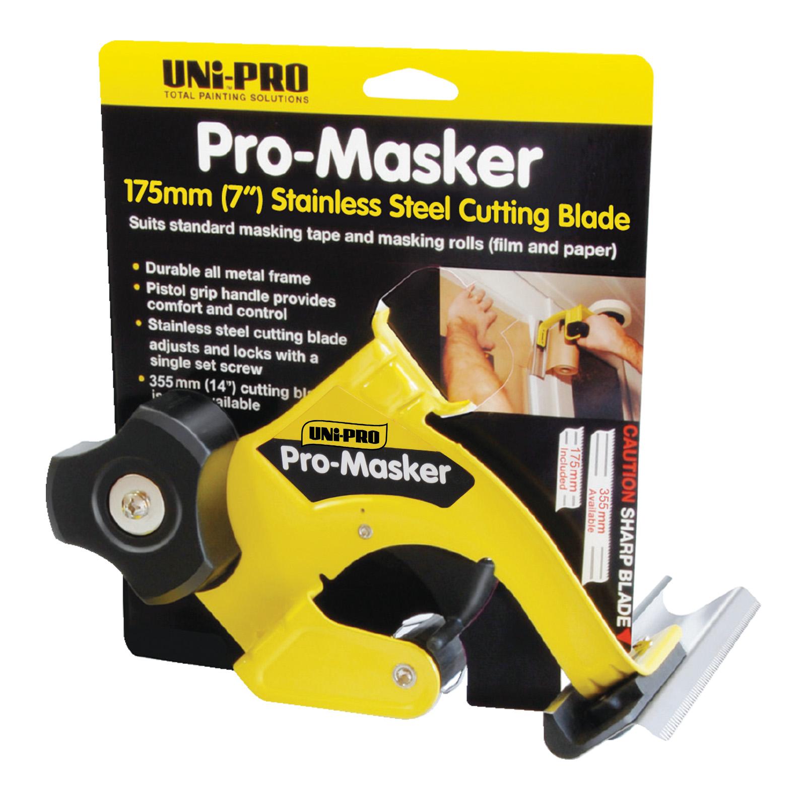 UNi-PRO Pro-Masker Pre-Folded Film Range