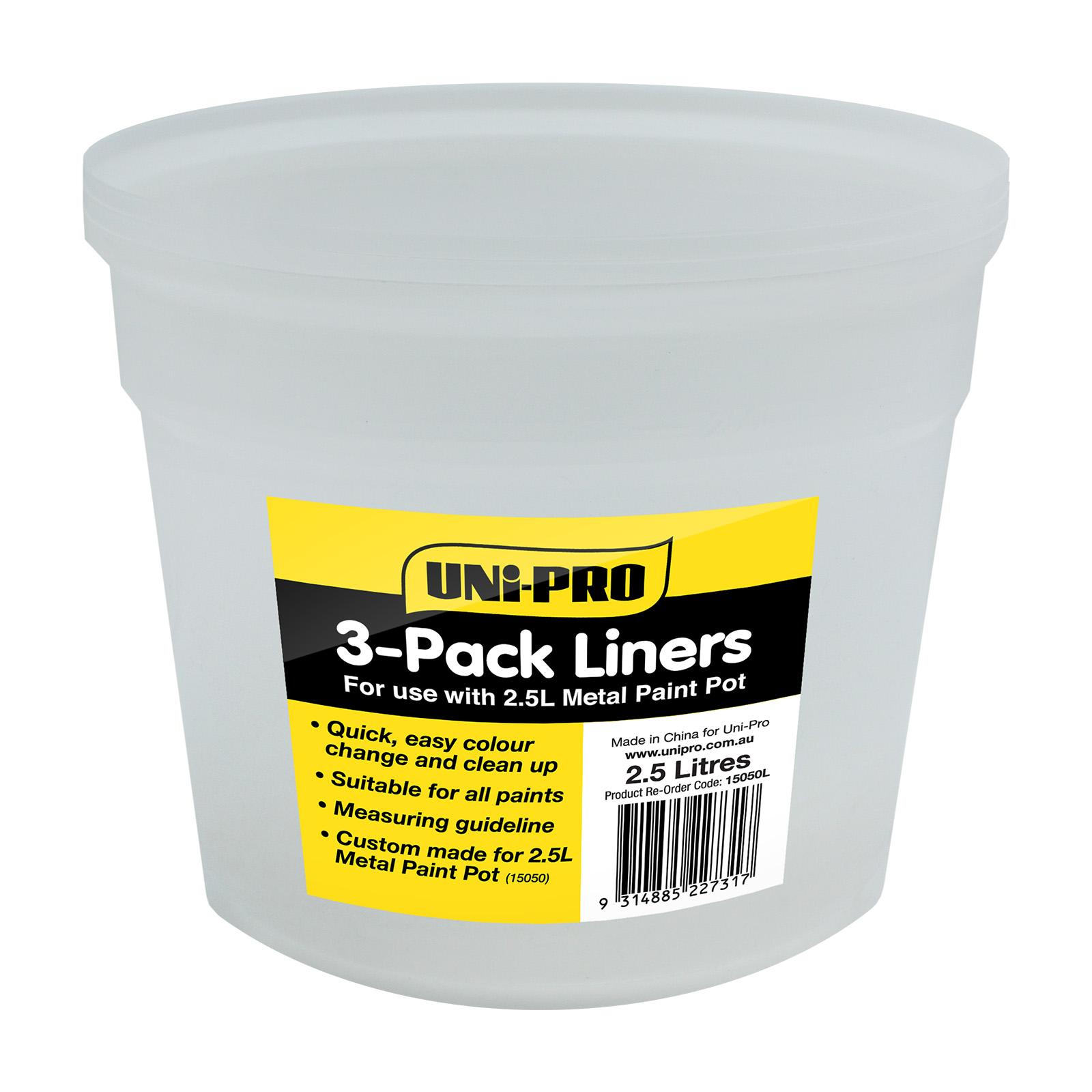 UNi-PRO 2.5L Heavy Duty Metal Paint Pot
