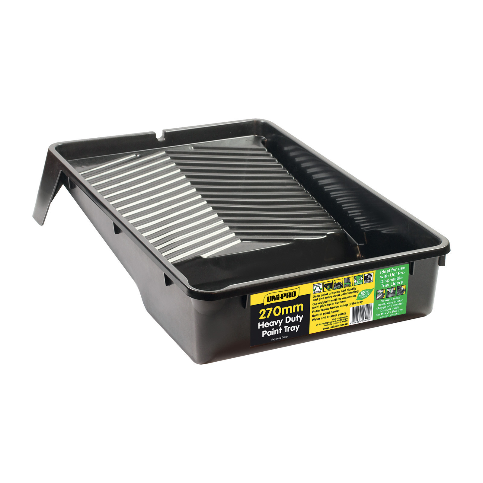 UNi-PRO 270mm Heavy Duty Plastic Tray With Pourer