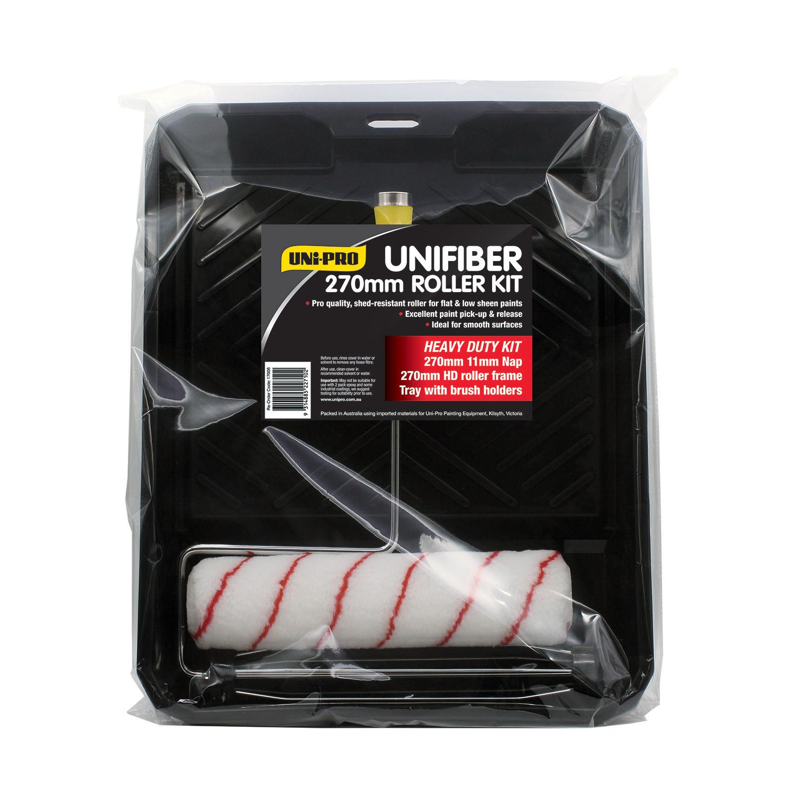 UNi-PRO 270mm Unifiber Heavy Duty Roller Kit