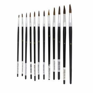 UNi-PRO Round Artist Brush Range