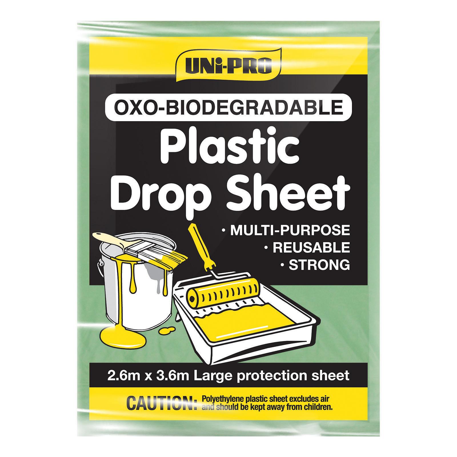 UNi-PRO Oxo-Biodegradable Light Duty Drop Sheet