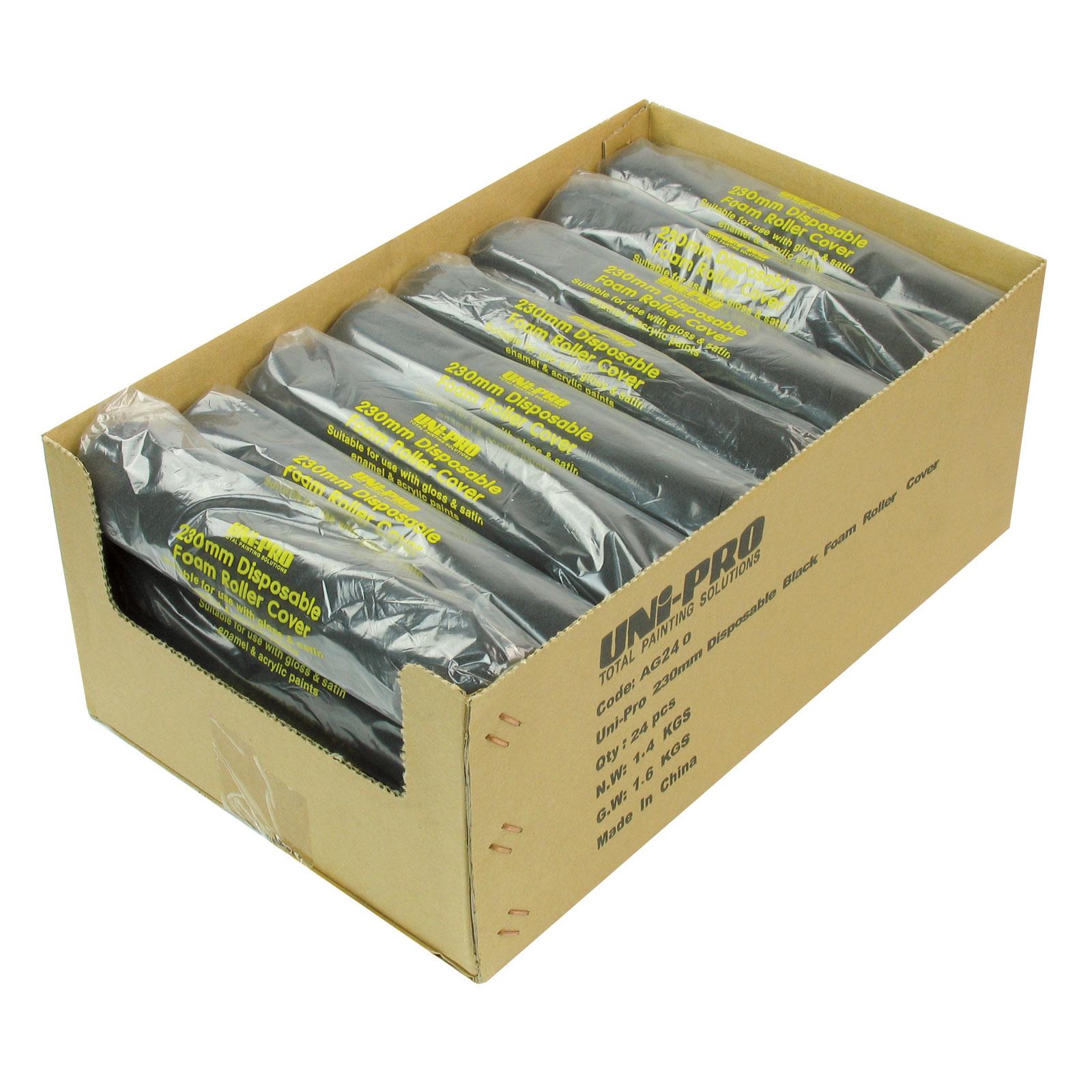 UNi-PRO Disposable Foam Roller Covers - 5mm Nap