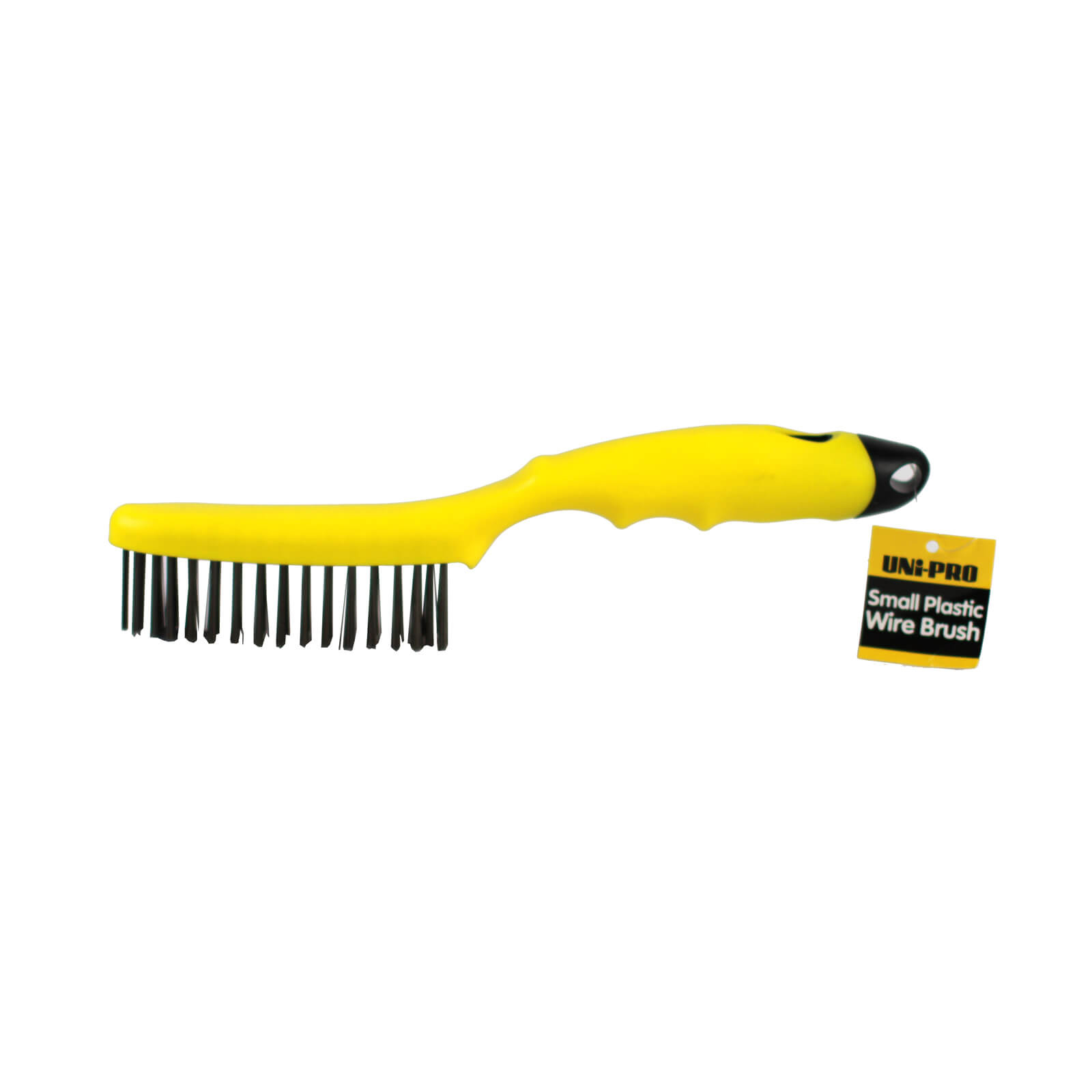 UNi-PRO Wire Brush Black Plastic - Small
