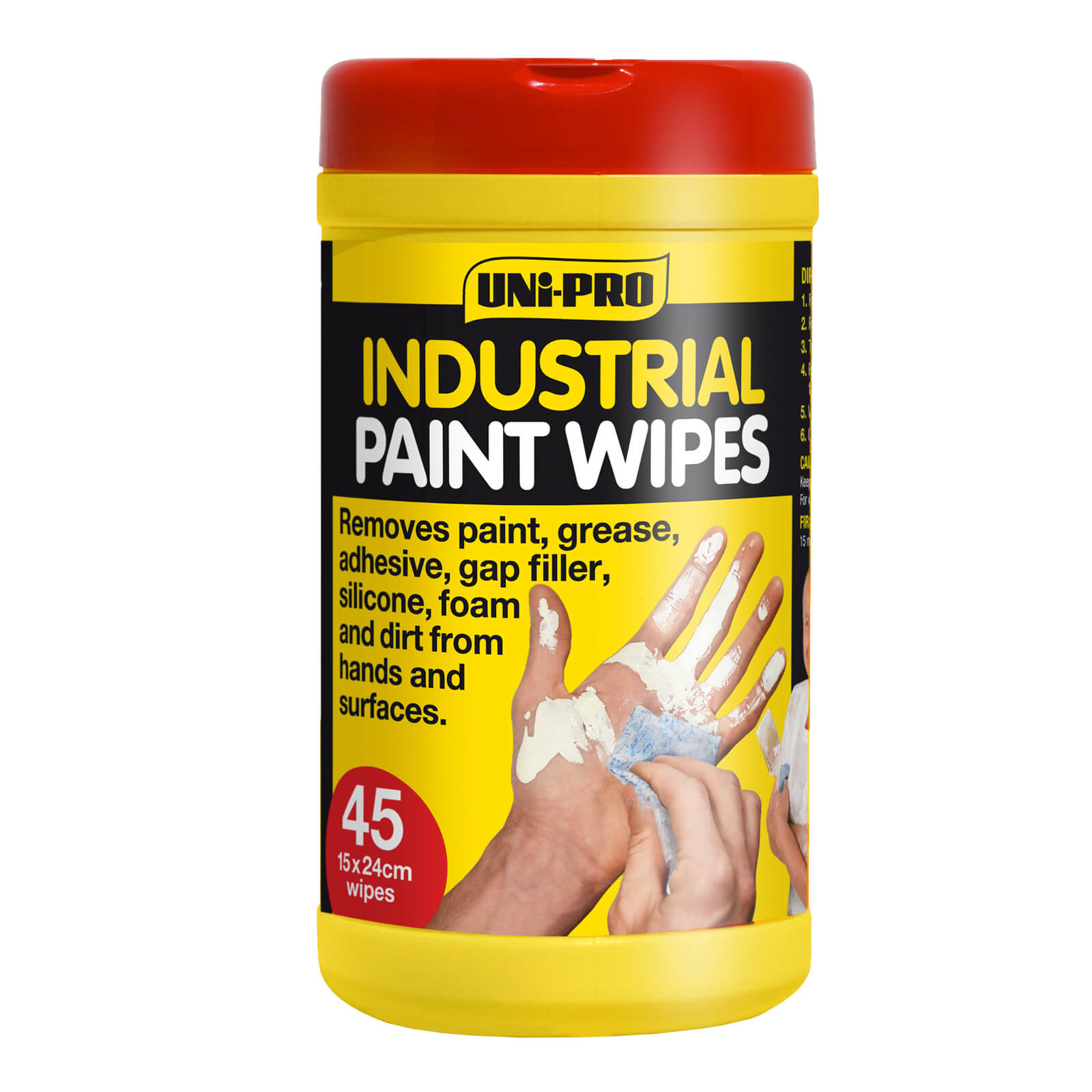 UNi-PRO Industrial Paint Hand Wipes