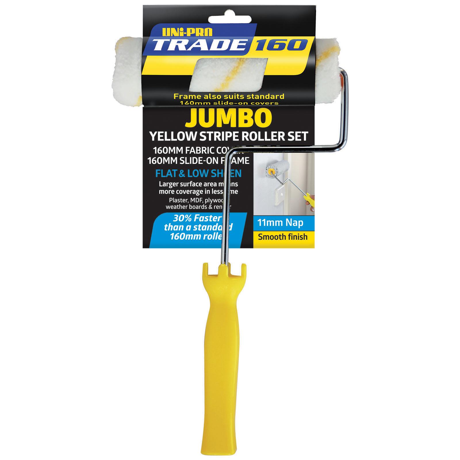 UNi-PRO Trade Jumbo Core Yellow Stripe Mini Set - 11mm nap