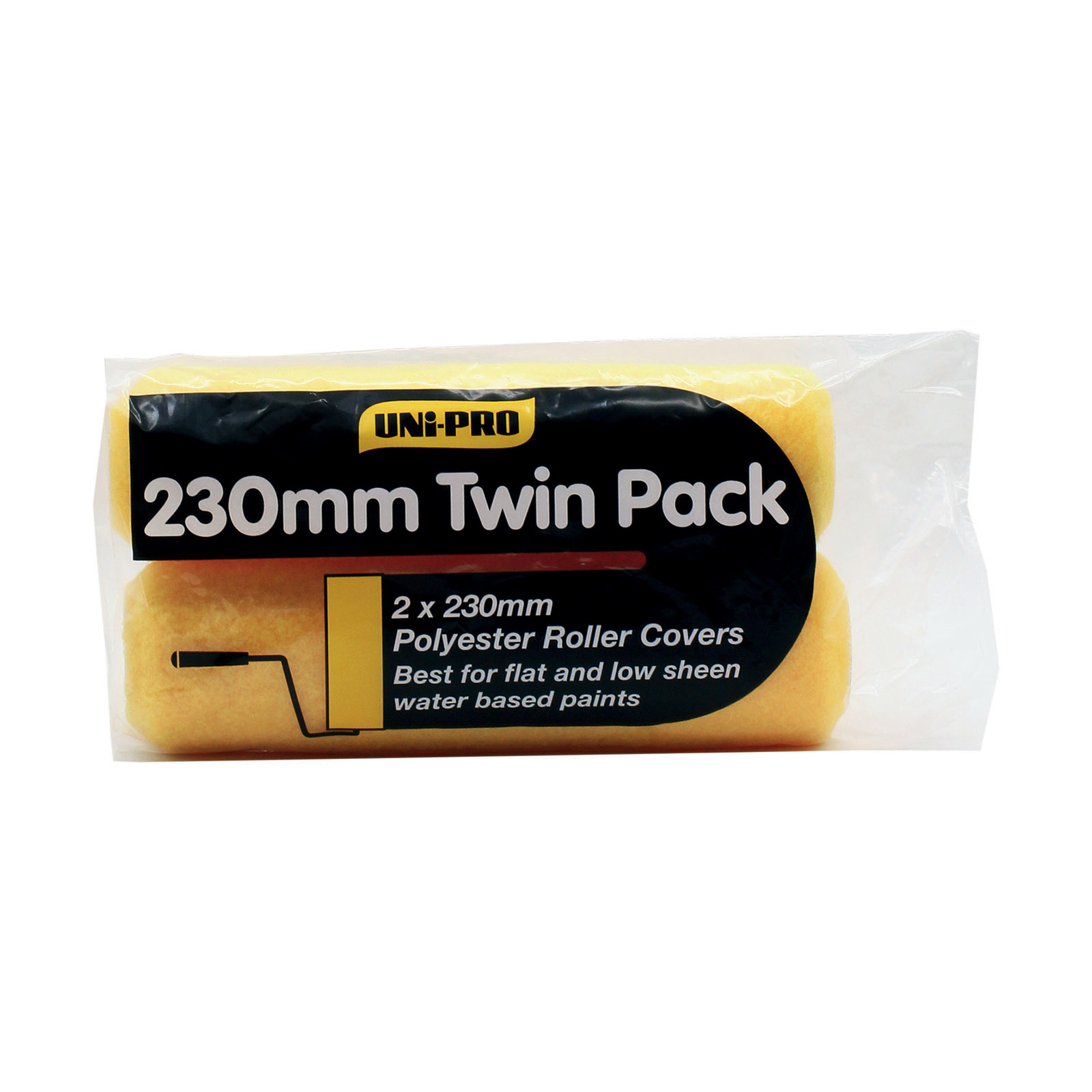 UNi-PRO Twin Pack Roller Covers - 10mm nap
