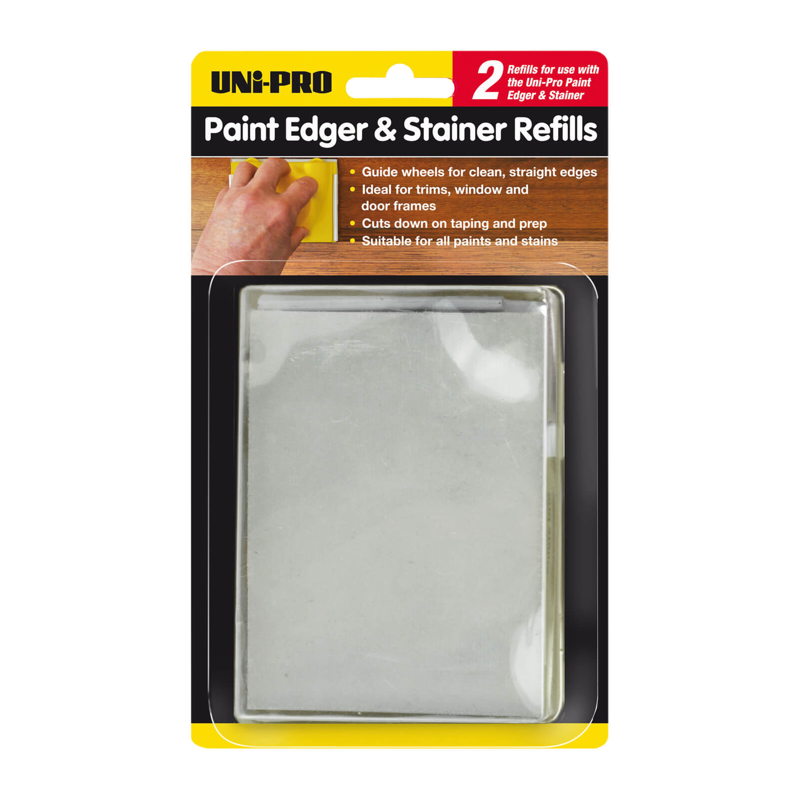 UNi-PRO Paint Pad Edger 2 Replacement Pads
