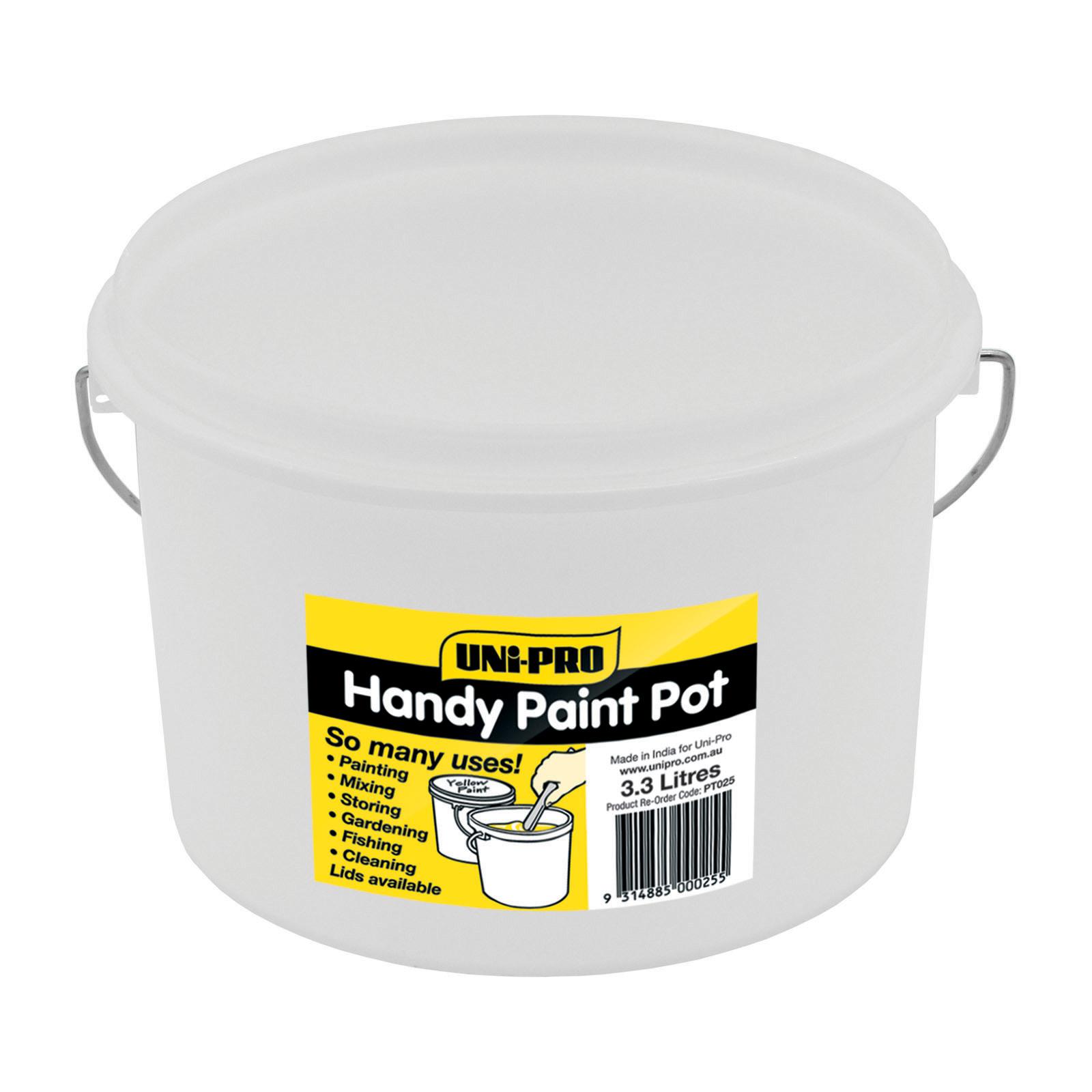 UNi-PRO Handy Paint Pot Plastic Lid