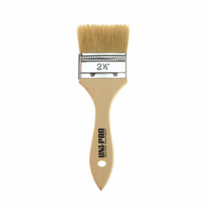 UNi-PRO Unpainted Natural Bristle Chip Brush Range