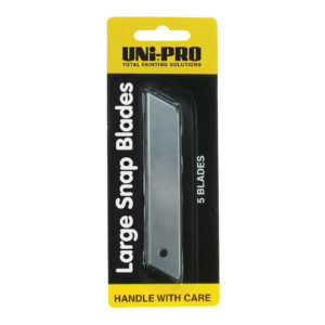 UNi-PRO Large Snap Knife Replacement Blade Packs